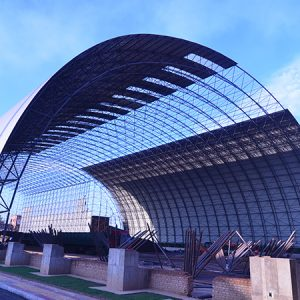 2018 indonesia space frame industrial coal storage 2