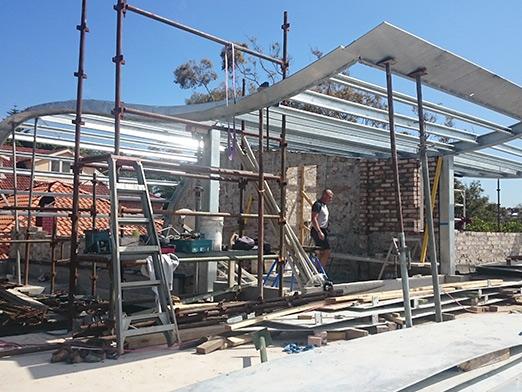 australia steel structure villa 1