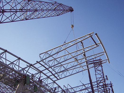 erdos steel space frame airport 12000 square meters 3