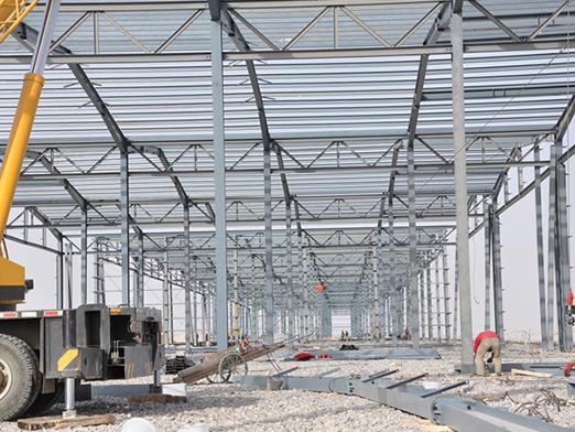 sinkiang steel structure airport hangar 1