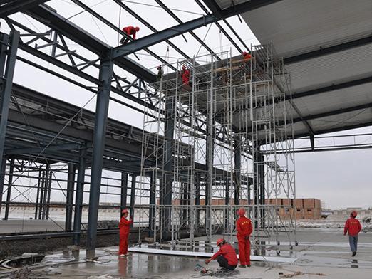 sinkiang steel structure airport hangar 2