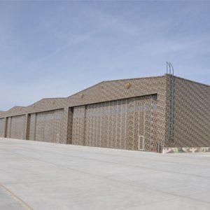 sinkiang steel structure airport hangar 3
