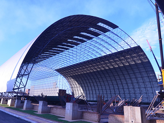steel coal storage shed 18000 square meters 2