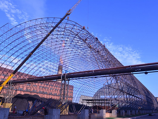 steel coal storage shed 18000 square meters 3