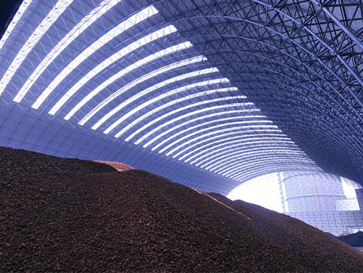 steel coal storage shed 18000 square meters 5