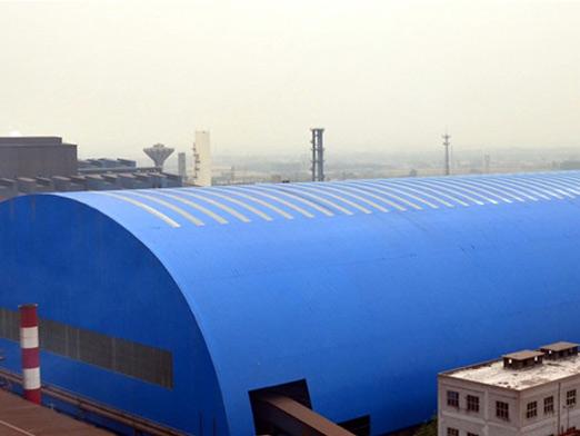 steel coal storage shed 18000 square meters 6