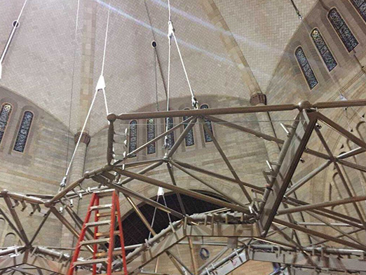 steel structure decoration of music hall in usa 2