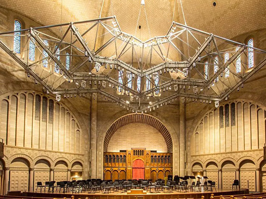 steel structure decoration of music hall in usa 3