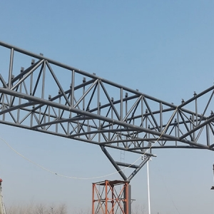 zhoukou toll station spatial truss