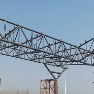 zhoukou toll station spatial truss